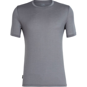 Icebreaker Tech Lite Crew Top T-shirt Heren, timberwolf